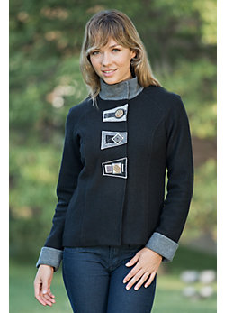 Women's Audrey Boiled Wool Jacket