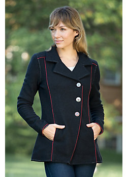 Women's Brooke Boiled Wool Jacket