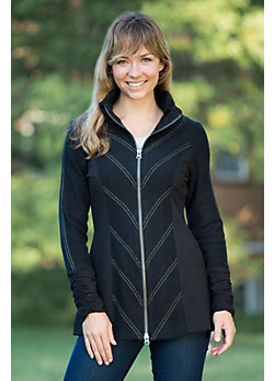 Women's Shea Boiled Wool Jacket