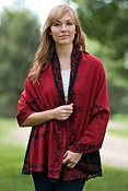 Women's Faylinn Reversible Alpaca Wool Wrap