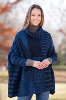 Anna Beth Alpaca Wool Poncho