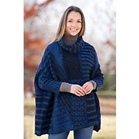 Women's Anna Beth Alpaca Wool Poncho Western & Country