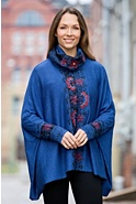 Erin Alpaca Wool Sweater Poncho