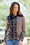 Women's Cynthia Alpaca Wool Cardigan Sweater
