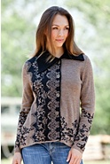 Cynthia Alpaca Wool Cardigan Sweater
