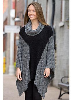 Freya Alpaca Wool Poncho