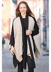 Women's Loren Alpaca Wool Poncho