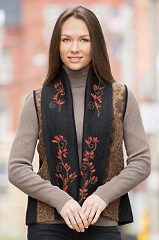 Erika Peruvian Alpaca Wool Vest