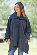 Lenore Fleece Cape