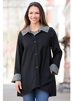 Janska Drew Reversible Lightweight Coat
