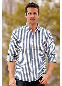 Men's Dereck Diamond Cotton Dobby Shirt