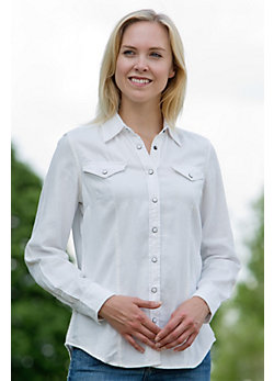 Women's Bucking Horse Cotton Shirt