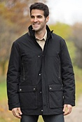 Men's Brennan Waxed Cotton Parka