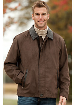 Men's Rainforest Bayfield Suede Twill Jacket