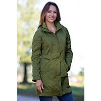 Women's Arlington Rain Jacket, Asparagus, Size Xlarge (14) Western & Country