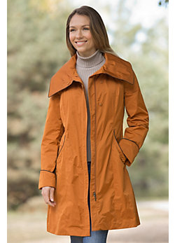 Women's Rainforest Seattle Raincoat with Zip-Out Warmer