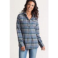 Overland Jazzy Jacquard Cotton Flannel Shirt