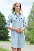 Women's Jessie Denim Shift Dress