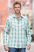 Ryan Michael Clifton Plaid Cotton Shirt