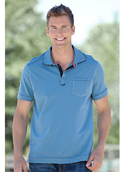 Men's Zach Cotton Polo Shirt