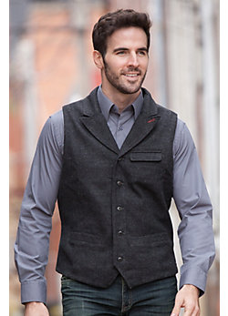 Men's Earnest Melton Wool Vest