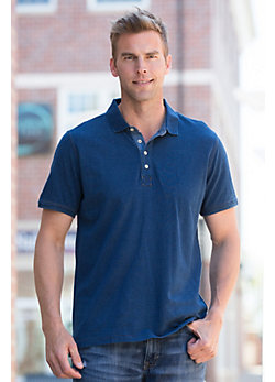 Joshua Cotton Pique Polo