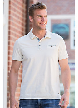 Owen Jersey Cotton Polo