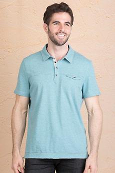 Jeremiah Drew Cotton Jersey Polo Shirt