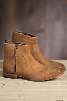 Men's J Shoes Navarra Short Leather Boots