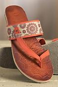 Women's Cushe Dayglow Leather Slide Sandals