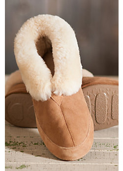 Men's Acorn Sheepskin Slippers