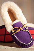 Women's Acorn Moxie Sheepskin Moccasin Slippers
