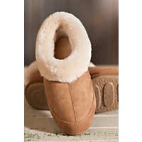 Women's Acorn Oh Ewe Ii Sheepskin Slippers, Walnut, Size 7 Western & Country
