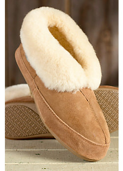 Men's Classic Shearling Sheepskin Slippers
