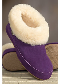 Women's Classic Shearling Sheepskin Slippers