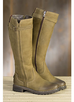 Women's Overland Libby Wool-Lined Suede Leather Boots