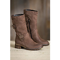 Women's Overland Debbie Wool-Lined Suede Leather Boots, BROWN OIL 19