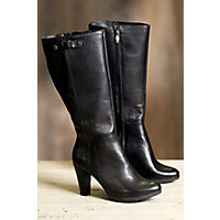 Women's Overland Reece Leather Boots, BLACK 41
