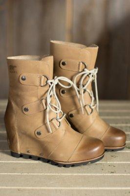 Women's Sorel Joan of Arctic Wedge Mid Waterproof Leather Boots