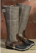 Women's Sorel Tall Slimpack Leather Riding Boots