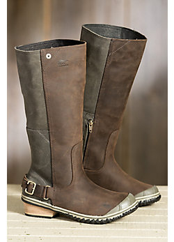 Women's Sorel Slimboot Waterproof Leather Boots
