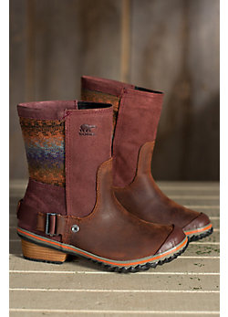 Women's Sorel Slimshortie Waterproof Leather Boots -