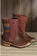 Women's Sorel Slimshortie Waterproof Leather Boots