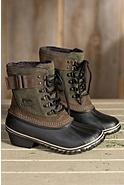 Women's Sorel Winter Fancy Waterproof Suede Boots