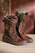 Women's Pampa Tactical Bridle Leather Boots