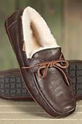 Men's Mason Moccasin Sheepskin Slippers