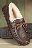 Men's Mason Moccasin Sheepskin Slippers