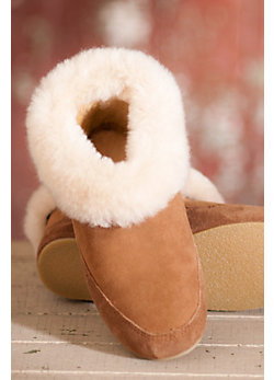 Women's Cabin Sheepskin Slippers