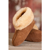 Overland High-Top Sheepskin Slippers, Stoney, Size M4 / W6 Western & Country