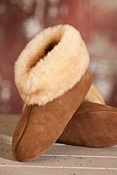 Overland High-Top Sheepskin Slippers